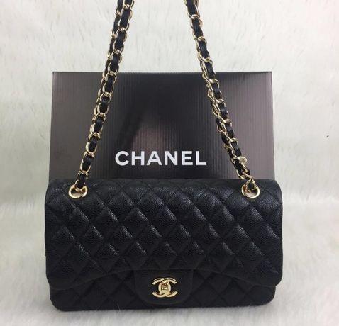 Genti Chanel Jumbo /Franta/logo auriu/saculet inclus
