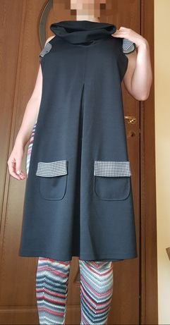 Rochie neagră Donna M, mărime S