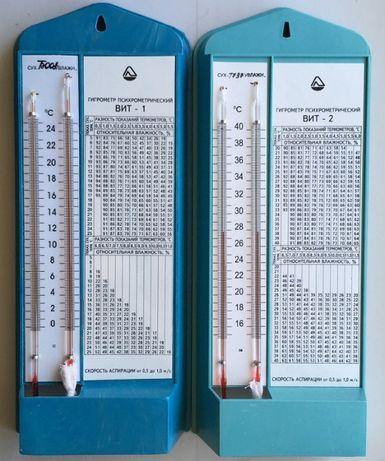 Гигрометр ВИТ1 и ВИТ2. Сертификат. Поверка. Беспл дост по РК
