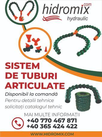 Sistem de tuburi articulate