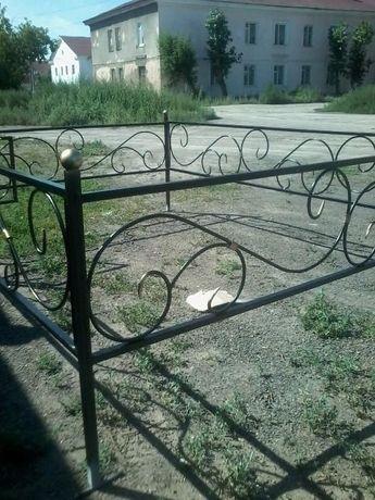 Оградки от с элементом художественной ковки Расрочка на 3 месяц