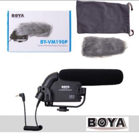 BOYA BY-VM190P Microfon Shotgun Pro Stereo Video DSLR Camera Camcorder