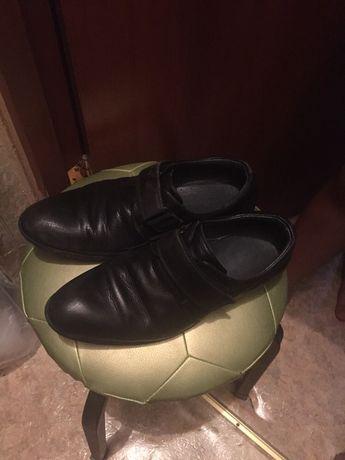 Туфли подростковые кожа