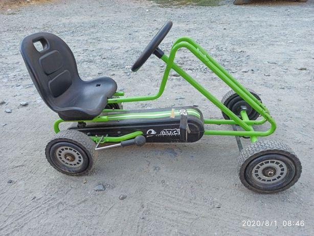 Cart cu pedale copii
