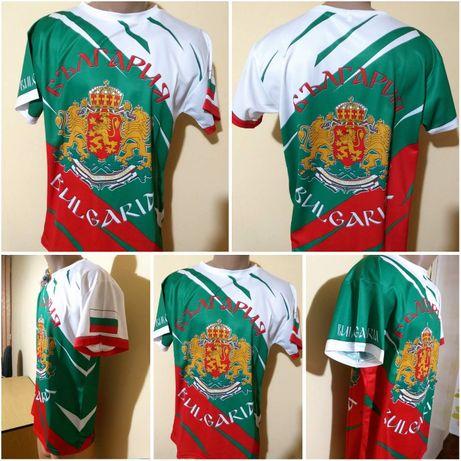 НОВО 2020 Тениски България - Високо качествена сублимация