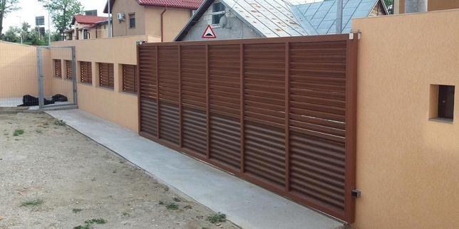Vand/Fac porti si garduri din fier, tabla, sipca metalica, plasa, BCA