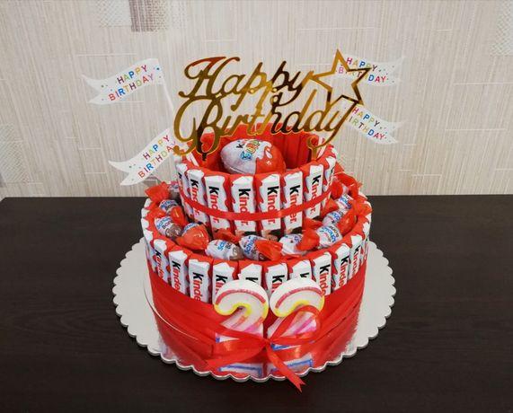 Торта от киндери