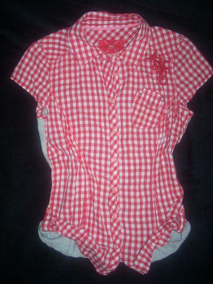Esprit оригинална дамска риза ефектен гръб и модел