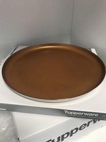 Platou inox Tupperware