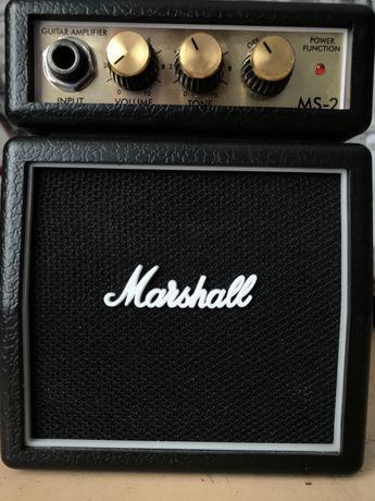 Компактный комбоусилитель Marshall MS 2