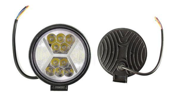 LED халоген работна лампа 126W 2100 Лумена Трактор Бус Камион АТВ