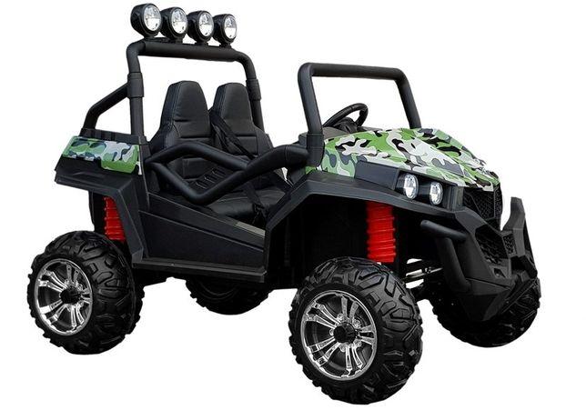 UTV electric pentru copii Golf-Kart S2588 180W PREMIUM #Verde Camuflaj