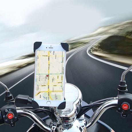 Suport de telefon cu prindere pe motocicleta, scuter
