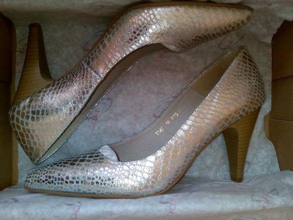 Нови дамски обувки FADO със змийски ефект