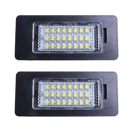 Lampi led numar Bmw seria 1 3 5 E88 E90 E91 E60 E61 E39 X1 X5 X6 F10