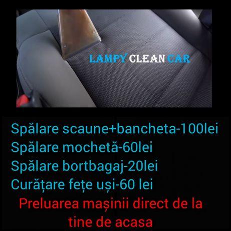 Curățare spălare tapiterie scaune mașină , curățire interior auto