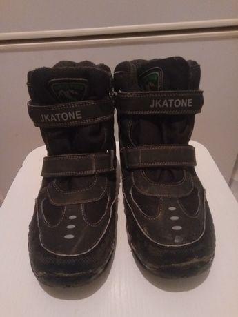 Мембранные зимние детские ботинки 38 р-р. НАТУРАЛЬНЫЕ