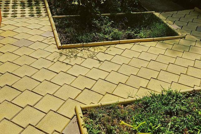 Producem pavele pentru gradina - model antichizat 20x20