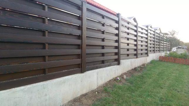 Gard lemn masiv 200/120