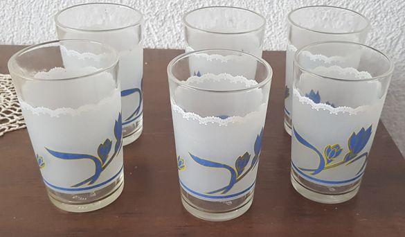 Комплект 6 бр. чаши за пиене, чаши за напитки