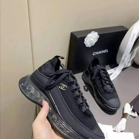 Chanel черни маратонки