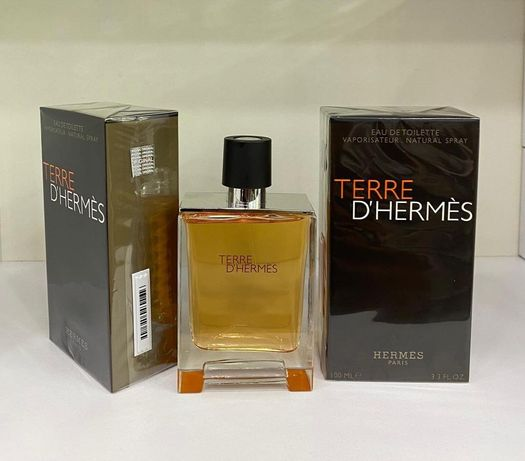 Оригинал ! Hermes Terre D'hermes EDT 100мл.