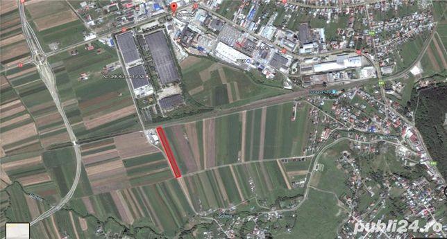 Vand teren intravilan 5000 mp zona Rulmentul din Scheia jud. Suceava