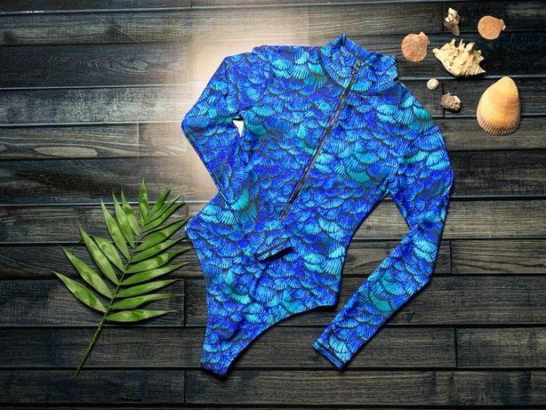 Costum de baie intreg cu imprimeu