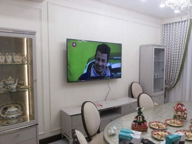 Установка настройка телевизора