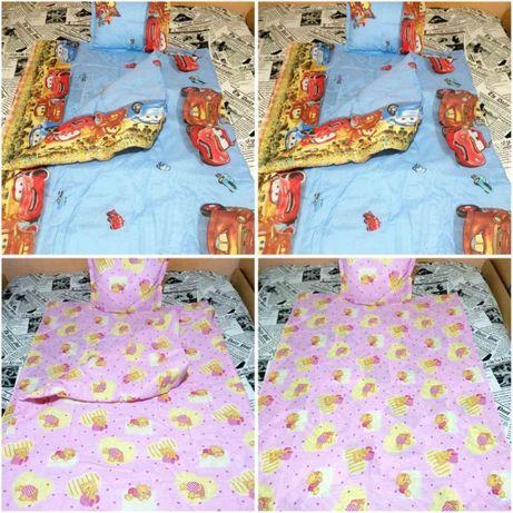 2020 Бебешки спални комплекти - завивка,чаршаф и калъфка - 8 варианта
