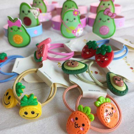 Супермягкие резиночки и браслеты для юных модниц!