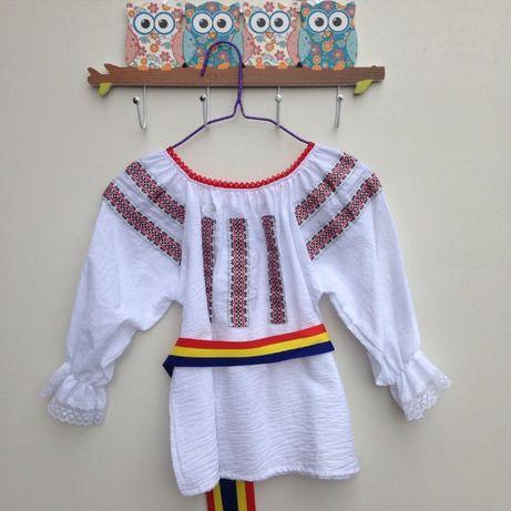 VAND camasa IE bluza COPII costum national traditional popular 9-14