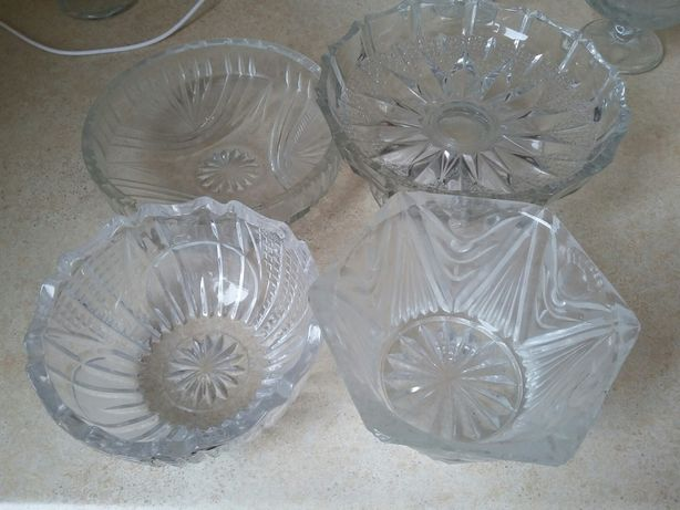вазы хрустальные конфетницы салатницы.