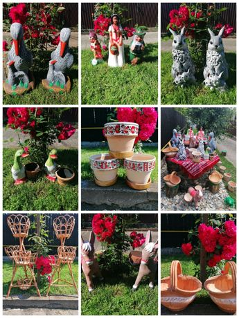 Vând decorațiuni de grădină