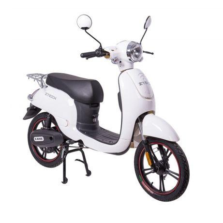 Bicicleta electrica ZTECH ZT-20 ALB 600W 48V 12Ah, NOU