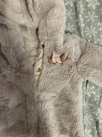 Пухено палто