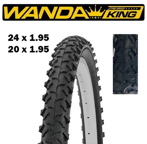 Външни гуми за велосипед колело WANDA 24x1.95 / 20x1.95