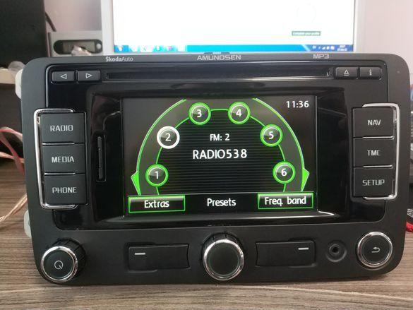 Навигация Skoda amundsen rns 310 + GPS antena