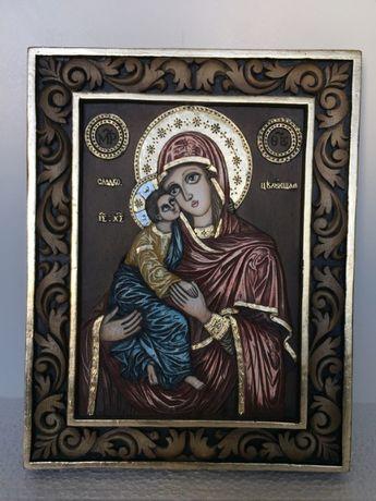 Икона Света Богородица с Младенеца - РЪЧНА изработка