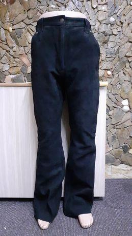 Pantaloni piele moto/chopper dama Gensler mar.46