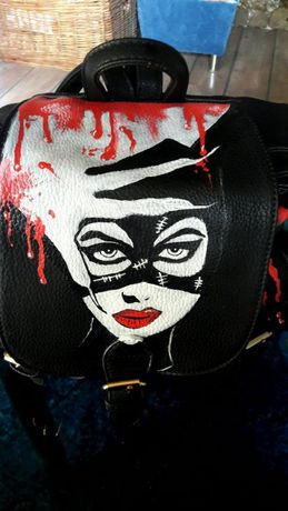 Ръчно рисувани раници,чанти - по ваша идея