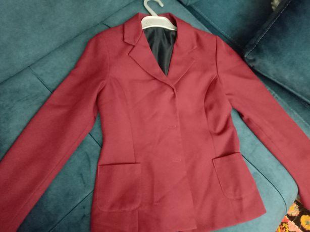 Пиджак школьный для девочек 5 и 8 класс