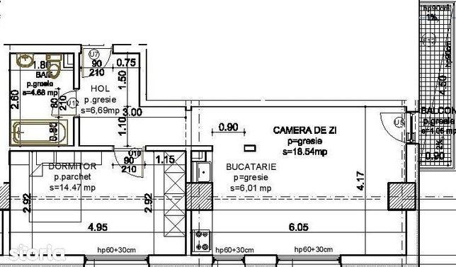 Investitie Rentabila in Tatarasi, apartament cu 2 camere