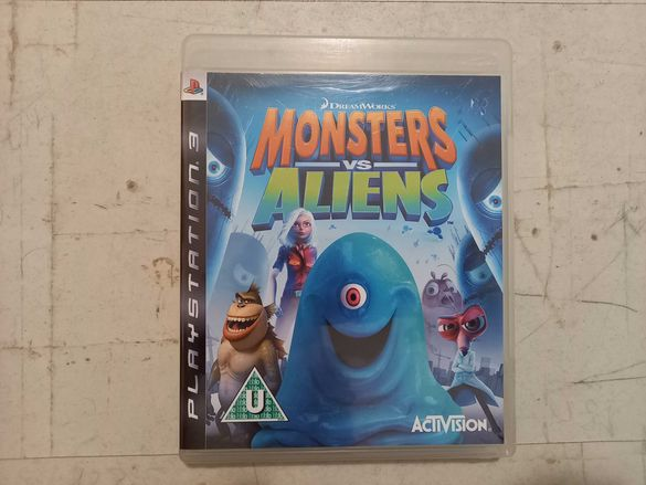Monsters vs. Aliens за PlayStation 3 PS3