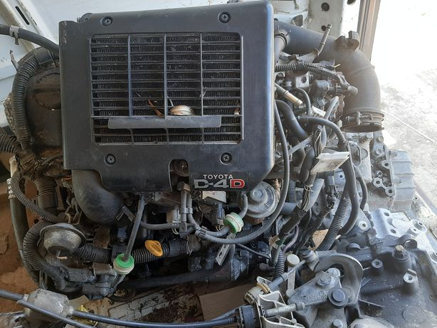 Motor Toyota Yaris 1.4 Diesel 2005