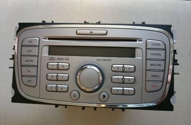 Radio CD Player Sony 6000 CD Original Ford Galaxy 2, Focus 2, Mondeo
