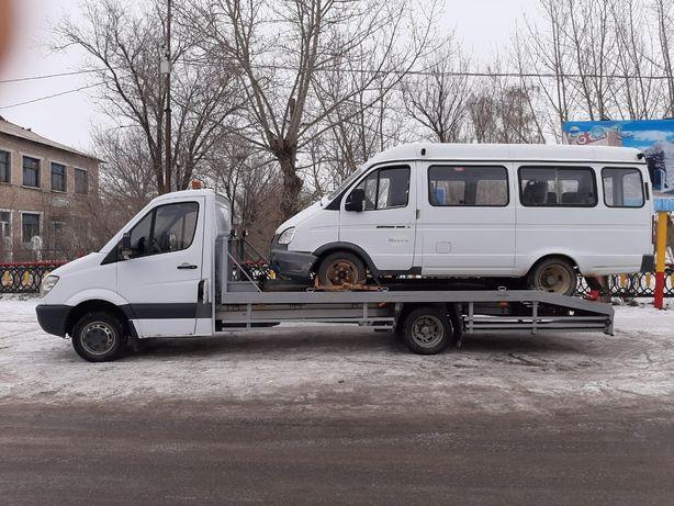 Услуги эвакуатора в Кокшетау круглосуточно.  Межгород.