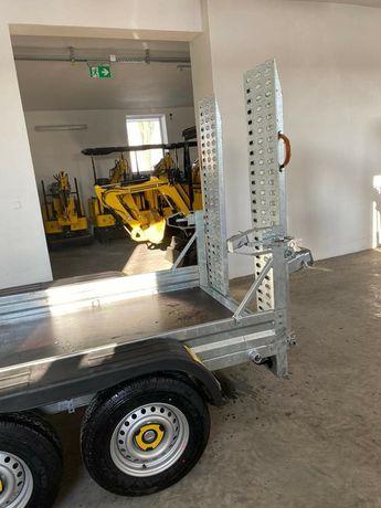 Remorca Trailer Utilaje Rampe 2.7 tone 2700 kg