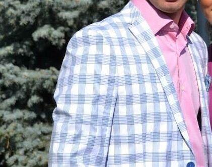 Sacou bărbătesc Louis Purple-Ego Men's Fashion Concept