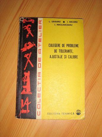 Culegere de probleme de toleranţe, ajustaje şi calibre